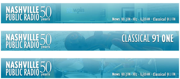 WPLN Logo and Headers